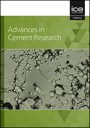 Advances in Cement Research