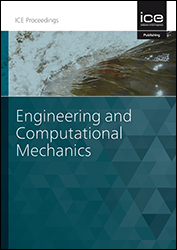 Proceedings of the Institution of Civil Engineers - Engineering and Computational Mechanics