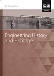 Proceedings of the Institution of Civil Engineers - Engineering History and Heritage