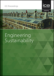 Proceedings of the Institution of Civil Engineers - Engineering Sustainability