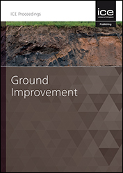 Proceedings of the Institution of Civil Engineers - Ground Improvement
