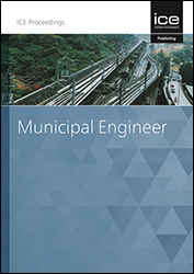 Proceedings of the Institution of Civil Engineers - Municipal Engineer