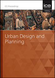 Proceedings of the Institution of Civil Engineers - Urban Design and Planning